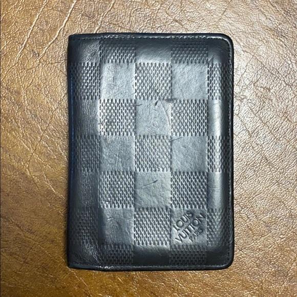 Louis Vuitton Handbags - Louis Vuitton Mens Black Leather Wallet